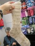 Stoopid overachiever socks