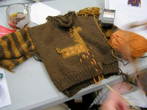 Owen's sweater  - by Jan