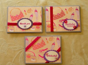 Girlie Girl Cards