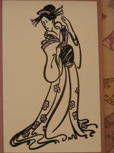 Purple Geisha detail