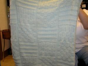 Jan's baby blanket