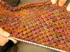 Jane's star stitch shawl