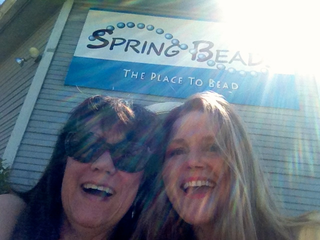 Me and LeeLee at the bead shop