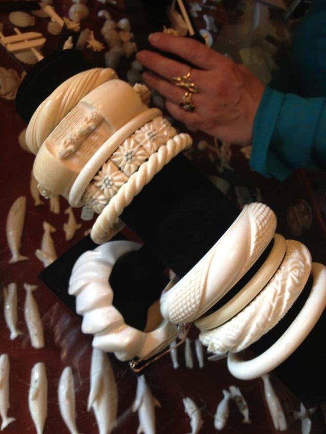 The bracelets!!!