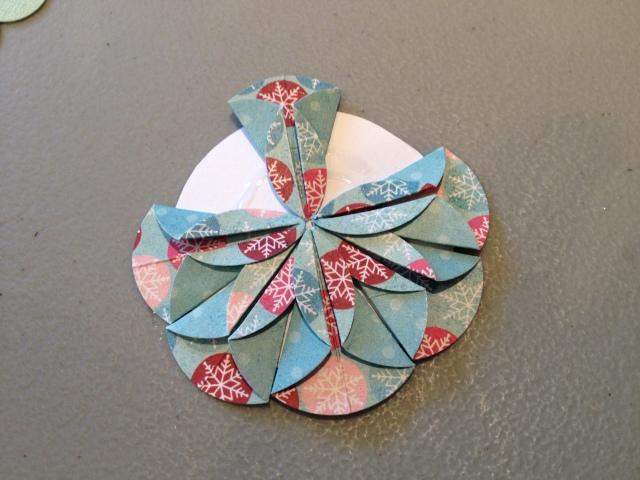 Placing the second set of petals