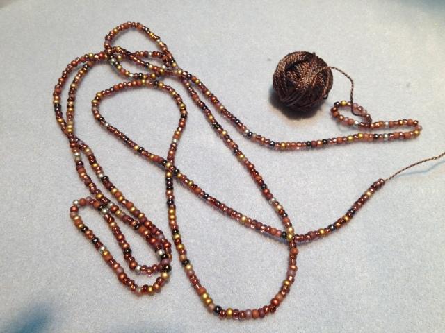 Mr. Schnibblet meets beads